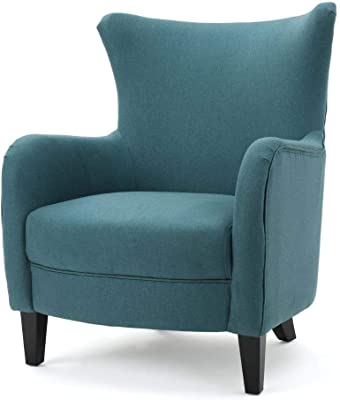 Christopher Knight Home Arabella Fabric Club Chair, Dark Teal