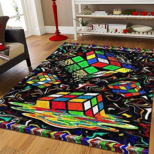 YHML Alfombra Rubik, tamaño mediano, 1,2 m x 1,8 m (121,9 cm x 183 cm)