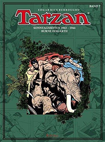 Tarzan Sonntagsseiten, Bd. 7: 1943 - 1944