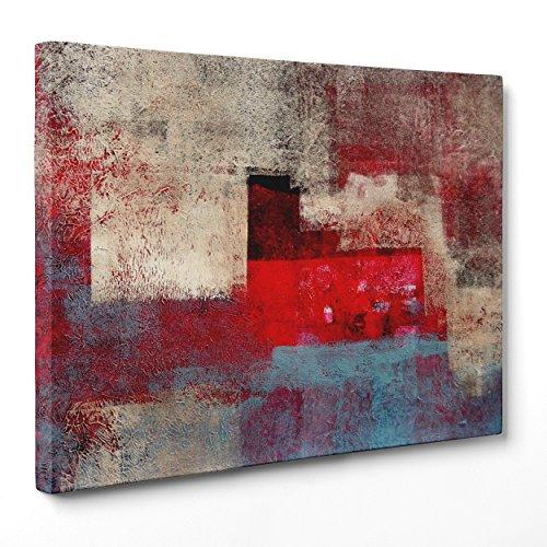 Cuadro sobre lienzo Canvas–ConKrea–Listo para colgar–Pollock Stl–Arte abstracto Abstracto