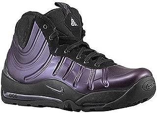 Men's Air Bakin' Posite Shoes. Size 7. Grand Purple/Black-Team Orange