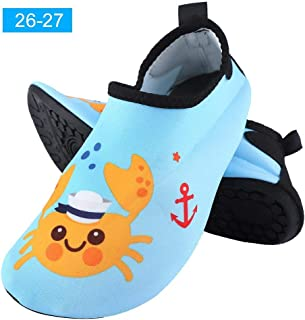 Yuanhua 1 Beach Shoes, Kids Beach Slipper Shoes Quick-Dry Aqua Socks Barefoot For Swimming Surfing