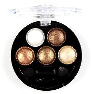 metallic brown eyeshadow