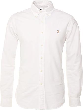 Polo Ralph Lauren Camisa Button Down Tejido Oxford Classic ...