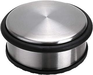 Sumnacon Heavy Duty Floor Door Stopper No Drill, Durability Stainless Steel Door Stops with Anti-Skid Rubber - Contemporar...
