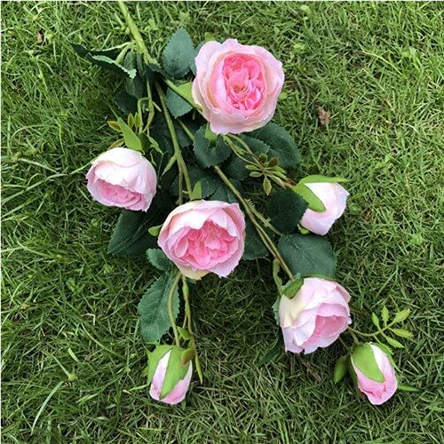 Artificial and Dried Flower 20Pcs Genuine Free Shipping Fake Rose 7 Ireland Price reduction Stem Long