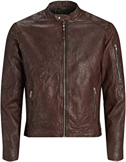 Jprrichard Clean Leather Jacket STS Chaqueta para Hombre