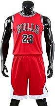JX-PEP Mannen en Unisex Basketbal T-Shirt 23 # Bulls RETRO Basketbal Shorts Jerseys Basketbal Uniform Top & Short