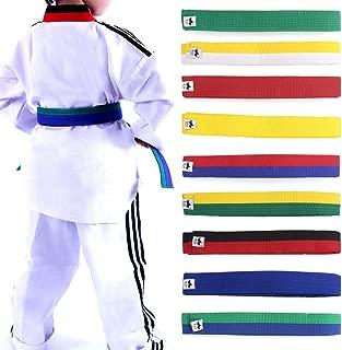 Lunji - cinturón para taekwondo, karate, Judo 250x 4cm, diferentes colores a elegir