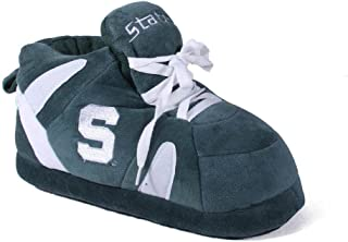 Happy Feet Men's and Womens Officially Licensed NCAA College Sneaker Slippers