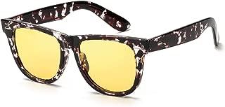 Night Vision Glasses Women Polarized Yellow Lens-Anti Glare Night Driving Glasses for Men&Women