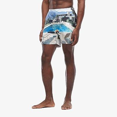 Orlebar Brown Bulldog Photographic Swim Trunk (Kaufmann Cocktail) Men