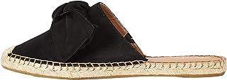 Marque Amazon - find. Bow Mule Leather Espadrille, Sandales Bout fermé femme