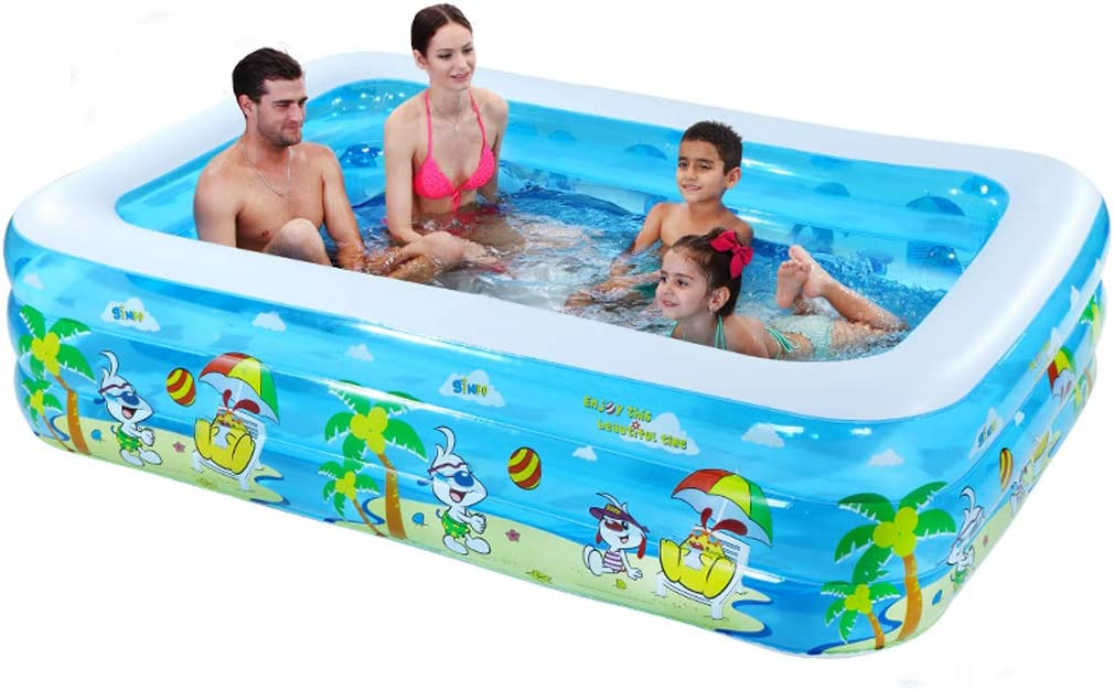SHENXINCI Family Inflatable In a popularity Center with Pool Swimming Special sale item