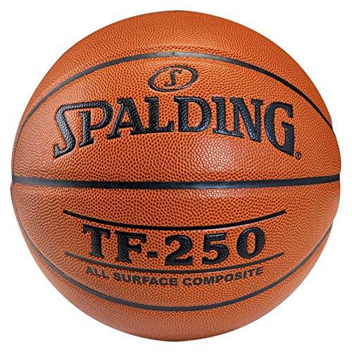 Spalding TF 250 - Pallone da Pallacanestro, Arancione (Arancione), Taglia 7