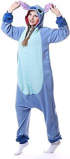 IBAX® Pijama de Animales y Personajes. Tela Polar. para Niños, Adultos, Mujer y Hombre.