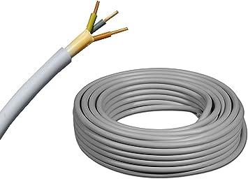 500m Trommel NYM-J Stromkabel Mantelleitung Installationsleitung 50+100m Ring