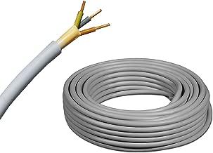 Kopp 153050848 Cable NYM-J con Recubrimiento 5 Cables de 1,5 mm/², 50 m Color Gris