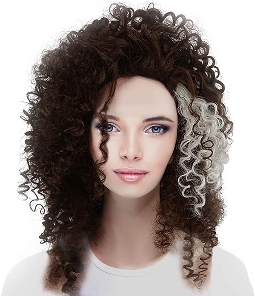 Bellatrix Lestrange Cosplay Wig Long Hair Choice Brown Halloween HP Rare Cos