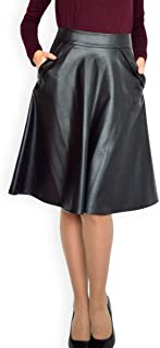 3f73229861a71b Amazon.fr : jupe cuir 38 : Vêtements
