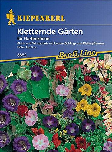 Kiepenkerl, Kletternde Gärten für Gartenzäune