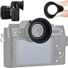Soft Silicon Camera Viewfinder Eyecup Eyepiece Eyeshade for Fujifilm Fuji X-T30 X-T20 X-T10 Eye Cup Protector Cushion (Hot Shoe Mount Installation)