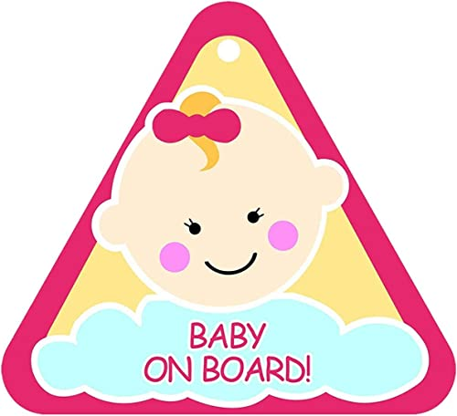 FRATELLI Baby On Board (Pink Triangle)