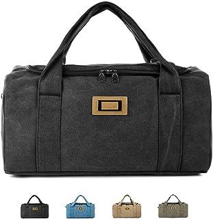 Travel Bag, Training Bag Handbag Gym Sports Bag Shoulder Bag for Men and Women 3 Ways to Carry Large Capacity,Black,L