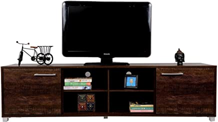 DeckUp Uniti TV Stand and Home Entertainment Unit (Wenge, Matte Finish)