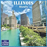 Illinois Rivers Calendar 2022: Official US State Illinois Calendar 2022, 16 Month Calendar 2022
