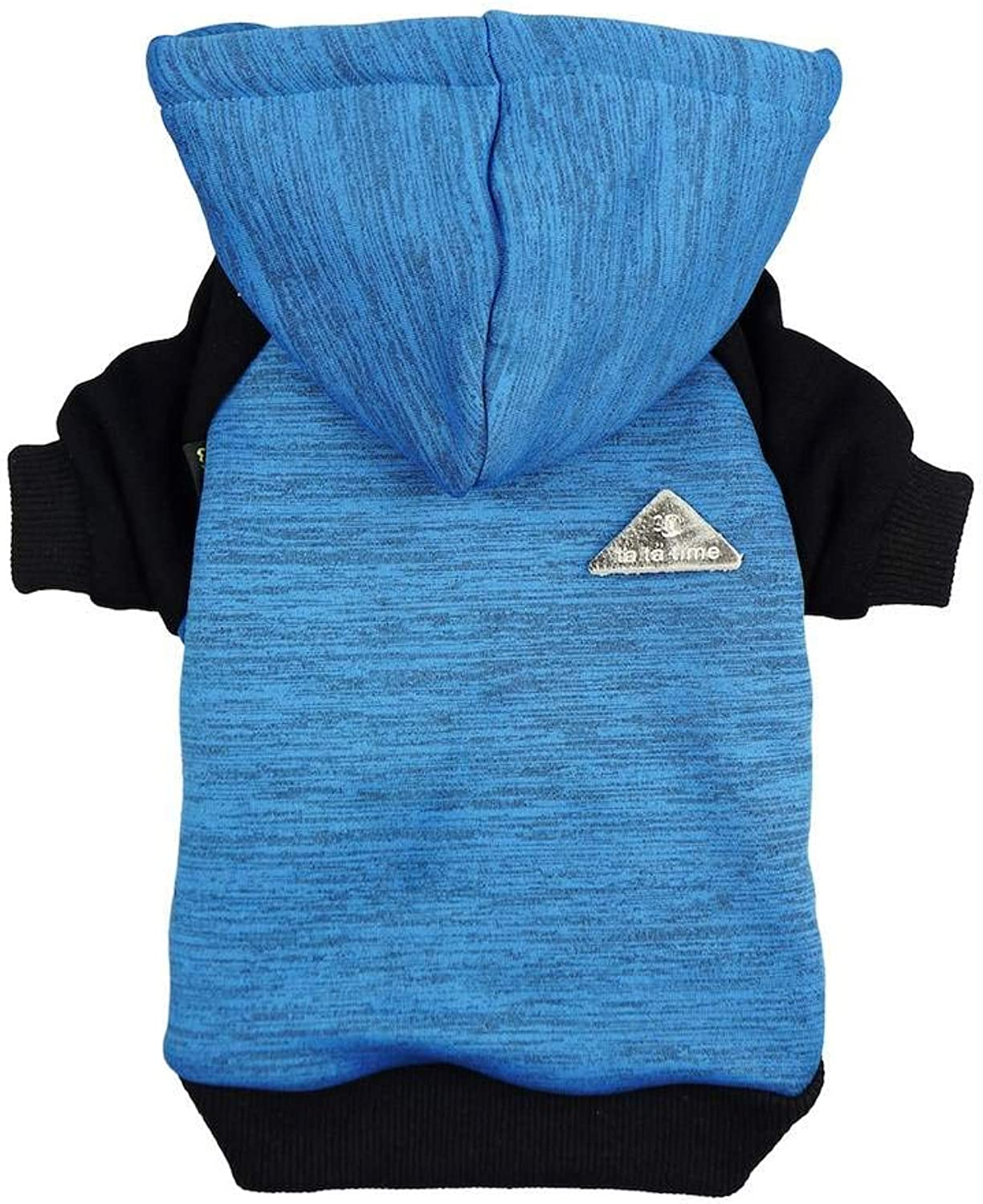 Fitwarm Pet Clothes Sweatshirts for Dog Coats Hooded Jackets, bluee, XL