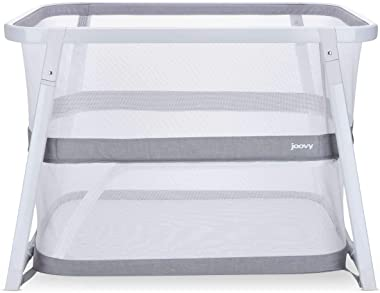 JOOVY Coo Portable Bassinet Playpen, White