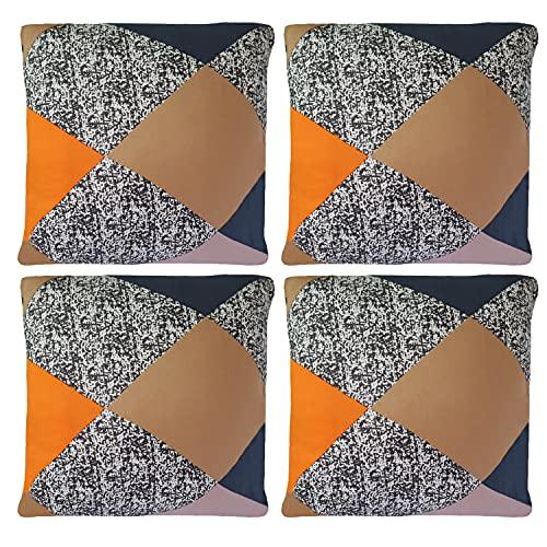 fodera cuscino divano Feilaxleer Copricuscino Federe per Cuscini 45x45 cm