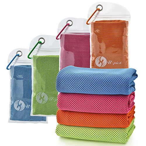 U-pick 4 Packs Cooling Towel...