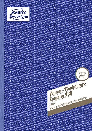Avery Dennison Formularbuch -Libro con formulario de ventas y facturas