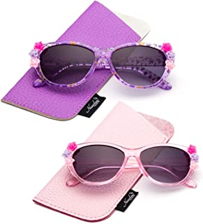 Newbee Fashion- Kids Girls Toddlers Fashion Sunglasses...