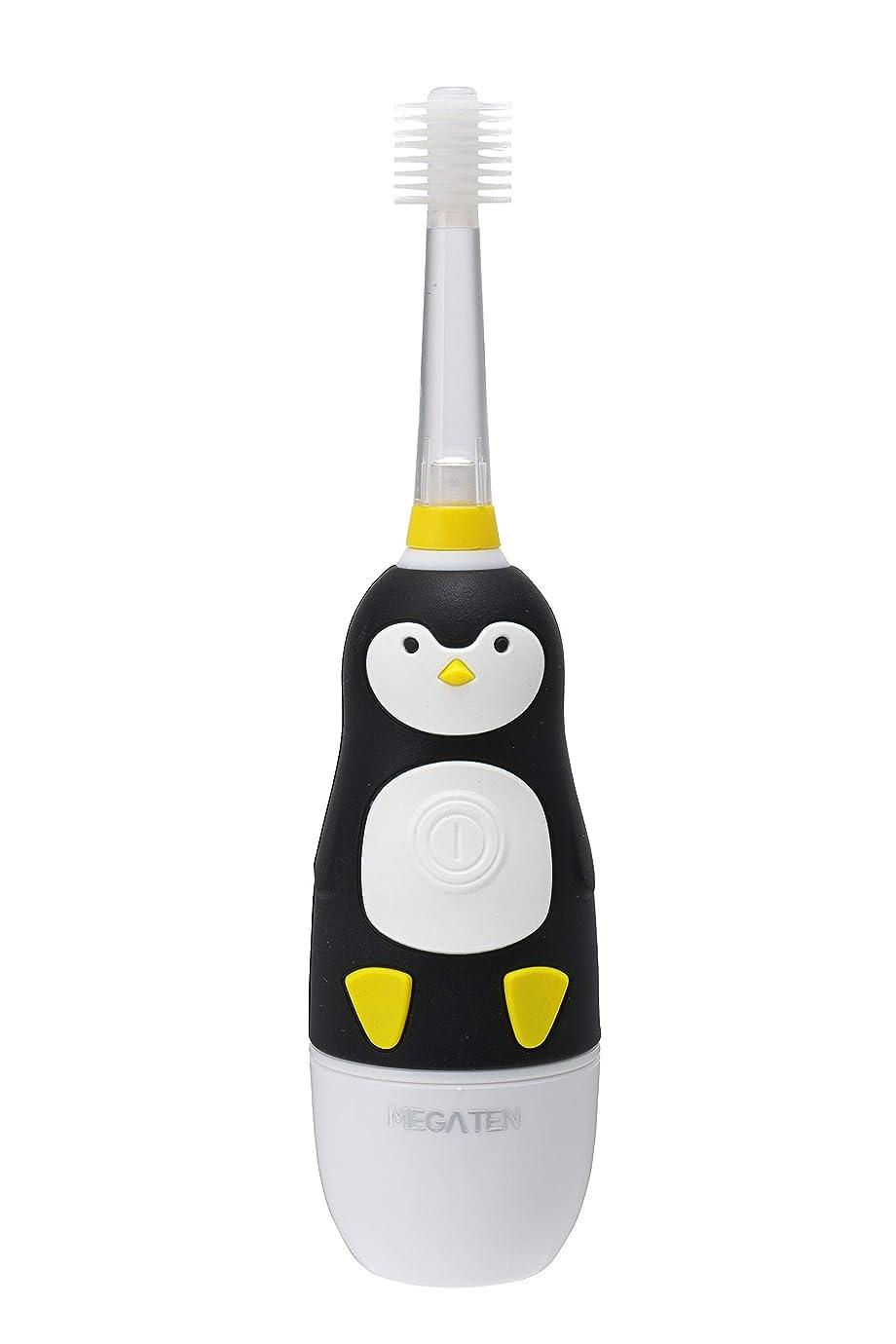 ブロック後世建築VIVATEC(ビバテック) 子供用電動歯ブラシ ピカるん ぶるぶるはぶらし ぺんぎん 23cm
