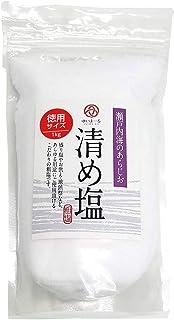 Moa Feteli(モアフェティ)盛り塩 清め塩 盛りやすいお清め塩 あら塩 マース 盛塩 スタンドパック チャック付 大容量 お得用 1kg (1kg)