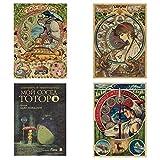 SGOT Anime Poster, My Neighbor Totoro Poster, Miyazaki