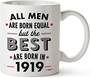 100th Birthday Gifts For Hundred Years Old Men Gift Mugs Happy Funny 100 Mens Man Best Friend 1919 Male Mug Unique Ideas 19 Wife Gag Dad Cute Girls Guys Good Husband