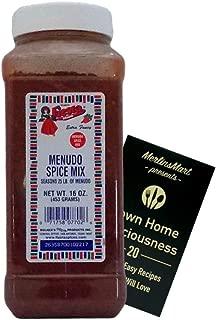 Bolner's Fiesta Extra Fancy Menudo Spice Mix Plus Recipe Booklet Bundle (16 Ounces)