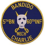 Bandido 5th Battalion 60th Infantry Mech Charlie Patch Full Color