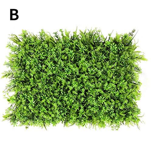 Plante Haie De Buis Artificiel - Plante De Haie Végétation Artificielle, Panneaux De Verdure Décorations Pour La Maison De Jardin Arrière