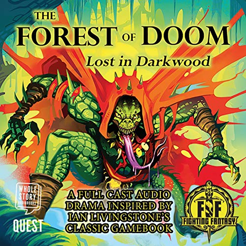 The Forest of Doom: Lost in Darkwood audiobook cover art