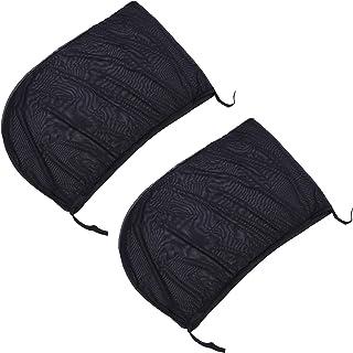 VICASKY 2 peças de proteção solar para janela de carro, tela respirável para janela lateral do carro, tela traseira para j...