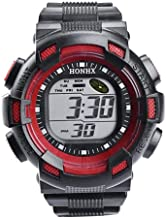 Watches for Men Hessimy Men's Digital Sports Wrist Watch LED Screen Large Face Electronics Military Watches Waterproof Alarm Back Light Outdoor Casual Luminous Simple Army Watch