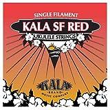 KALA mF red jeu de cordes pour ukulélé bariton