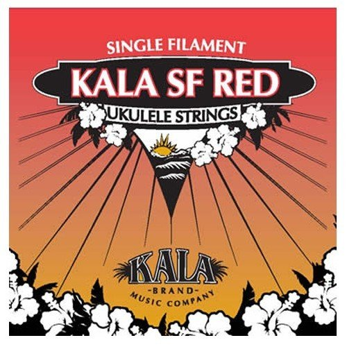 Kala Mf Red - Juego de cuerdas para ukelele de concierto (sol)