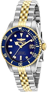 Women's Pro Diver Quartz Watch with Stainless Steel Strap, Two Tone, 16 (Model: 29188)