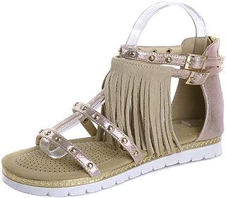 BalaMasa Womens ASL06852 Pu Platform Heels